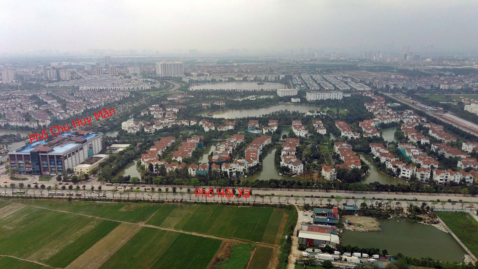 Cầu sẽ mở theo qui hoạch ở Hà Nội: Toành cảnh vị trí làm cầu Giang Biên - Ảnh 13.