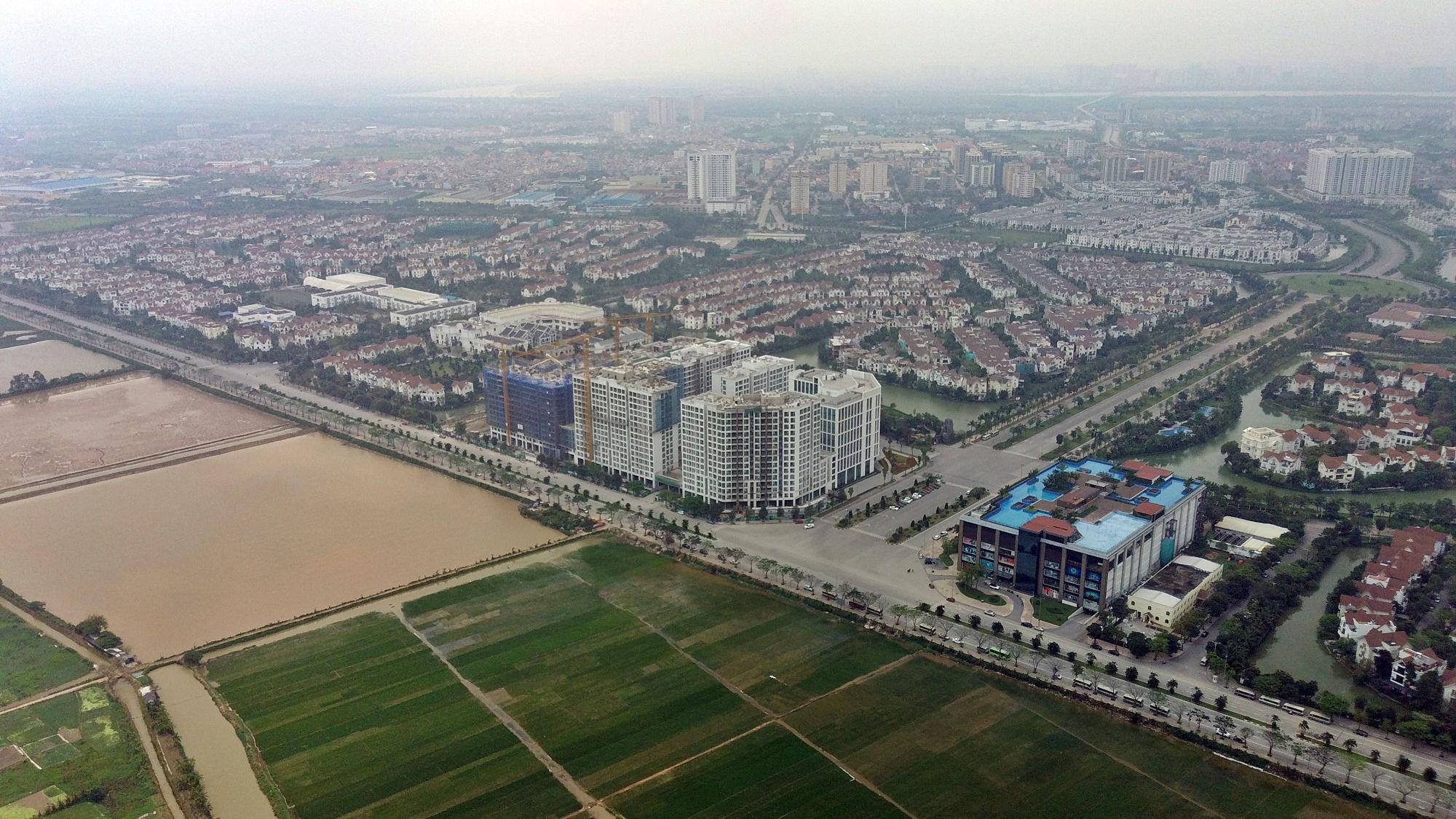Cầu sẽ mở theo qui hoạch ở Hà Nội: Toành cảnh vị trí làm cầu Giang Biên - Ảnh 3.