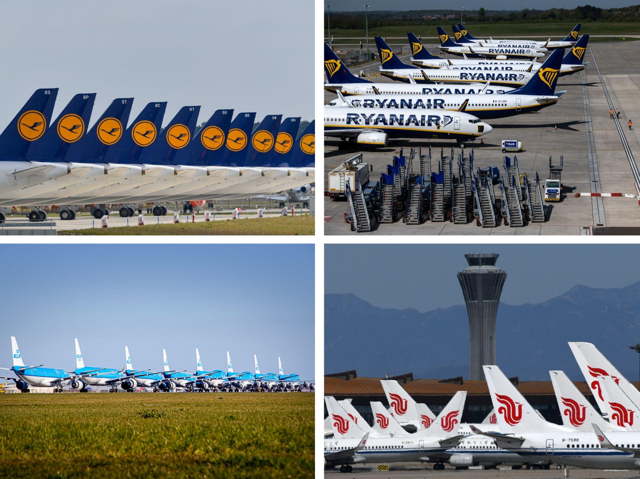 Các hãng hàng không đang bận rộn việc gì khi hơn 2/3 đội bay đang đắp chiếu? - Ảnh 2.