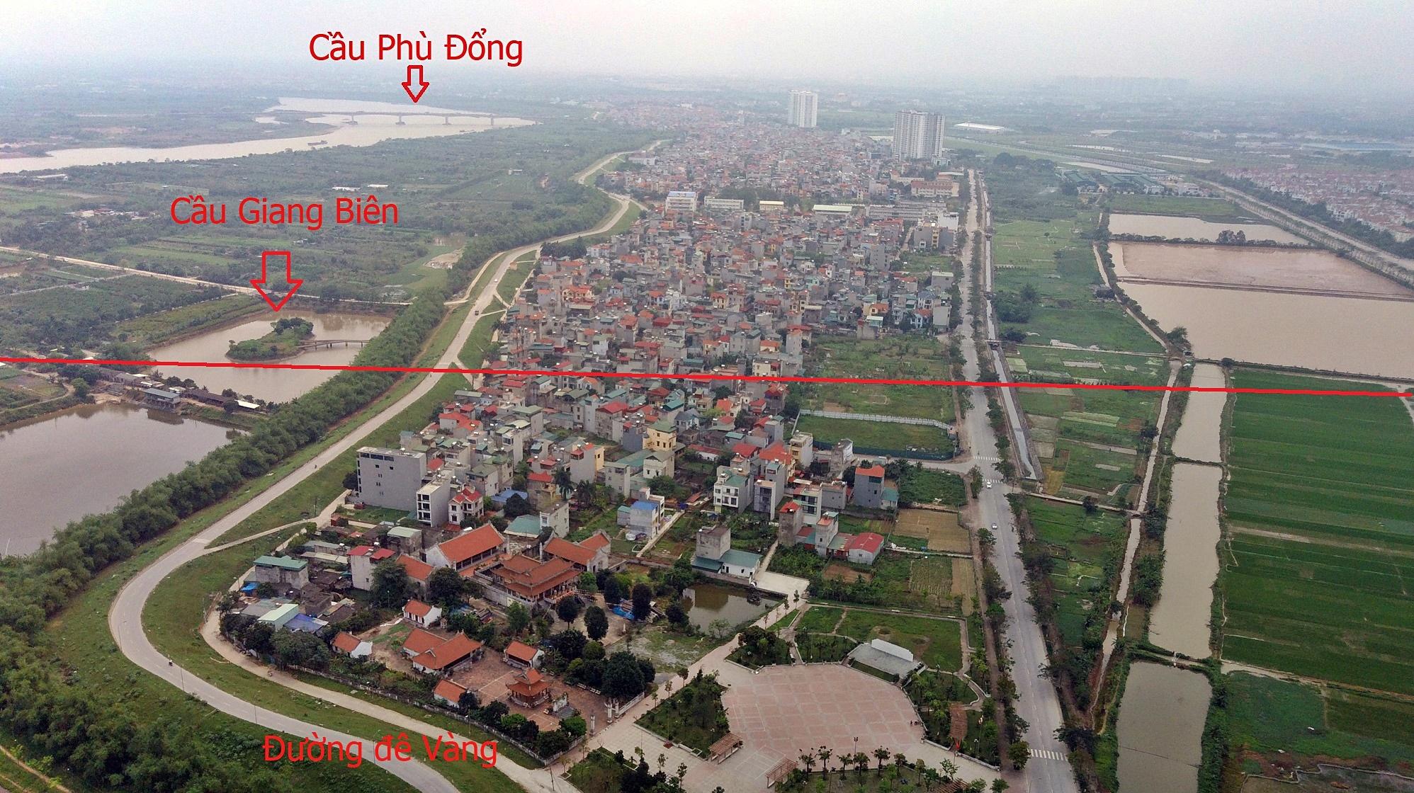 Cầu sẽ mở theo qui hoạch ở Hà Nội: Toành cảnh vị trí làm cầu Giang Biên - Ảnh 5.