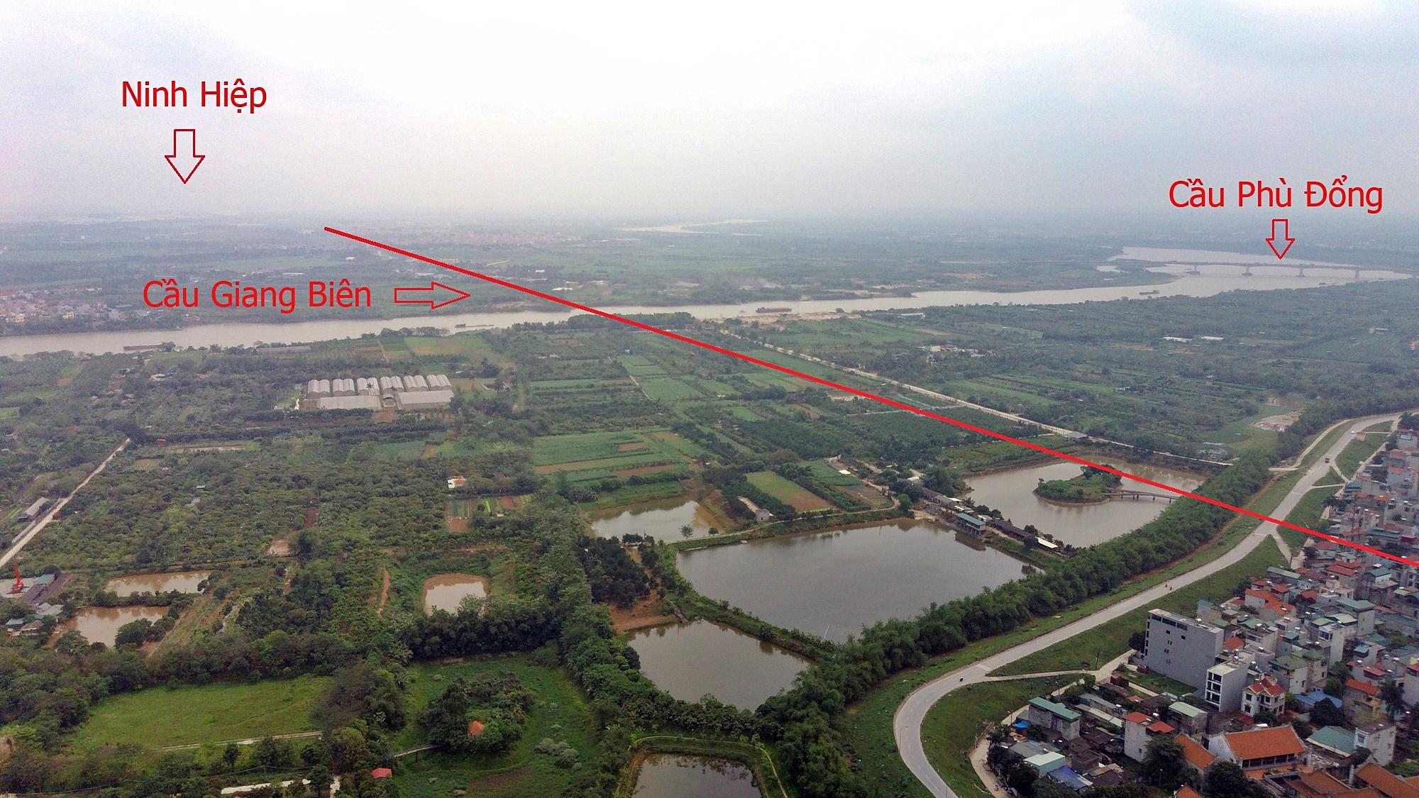 Cầu sẽ mở theo qui hoạch ở Hà Nội: Toành cảnh vị trí làm cầu Giang Biên - Ảnh 6.