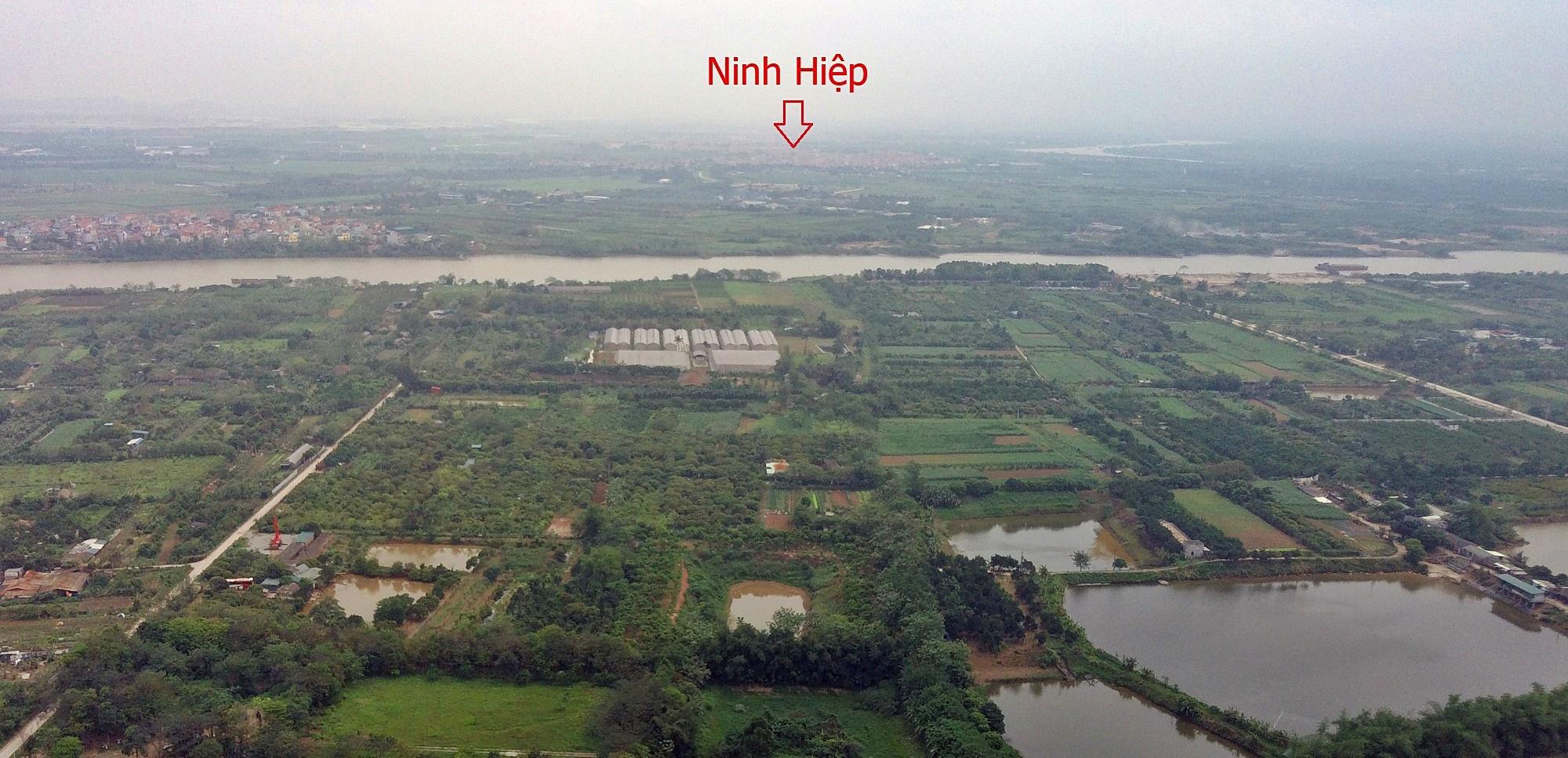 Cầu sẽ mở theo qui hoạch ở Hà Nội: Toành cảnh vị trí làm cầu Giang Biên - Ảnh 7.