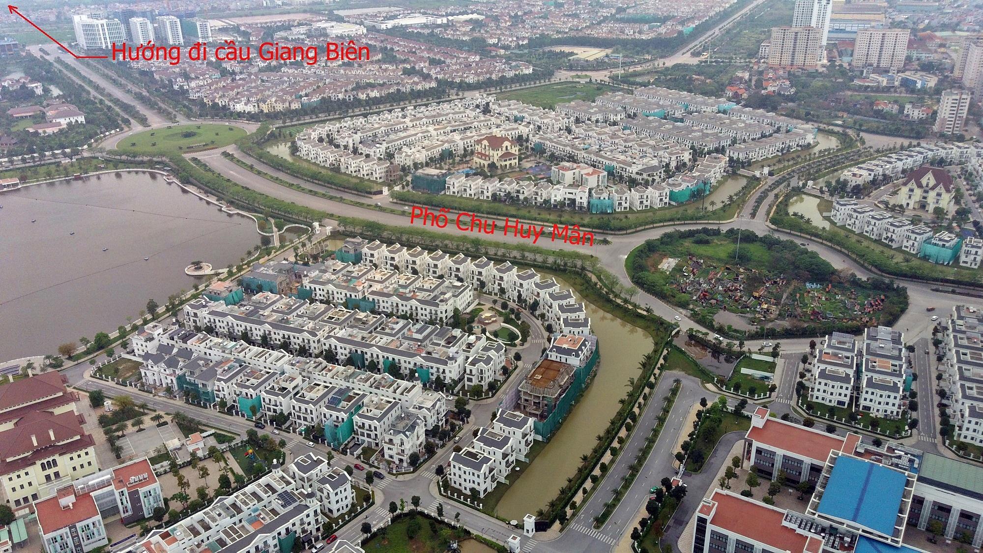 Cầu sẽ mở theo qui hoạch ở Hà Nội: Toành cảnh vị trí làm cầu Giang Biên - Ảnh 9.