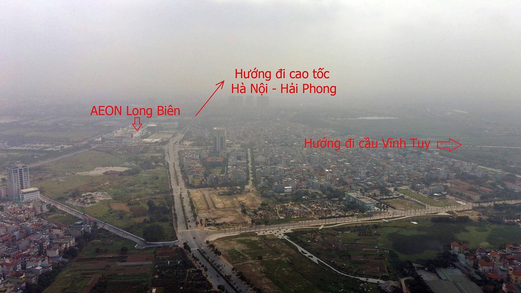 Cầu sẽ mở theo qui hoạch ở Hà Nội: Toành cảnh vị trí làm cầu Giang Biên - Ảnh 11.