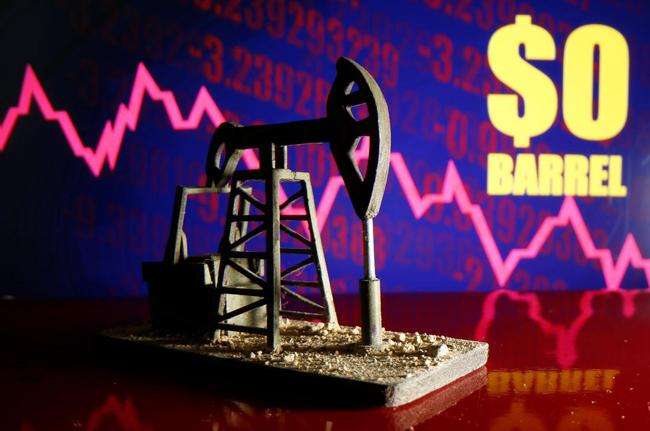 Giá xăng dầu hôm nay 22/4: Tiếp tục đứng dưới 0 USD/thùng  - Ảnh 1.