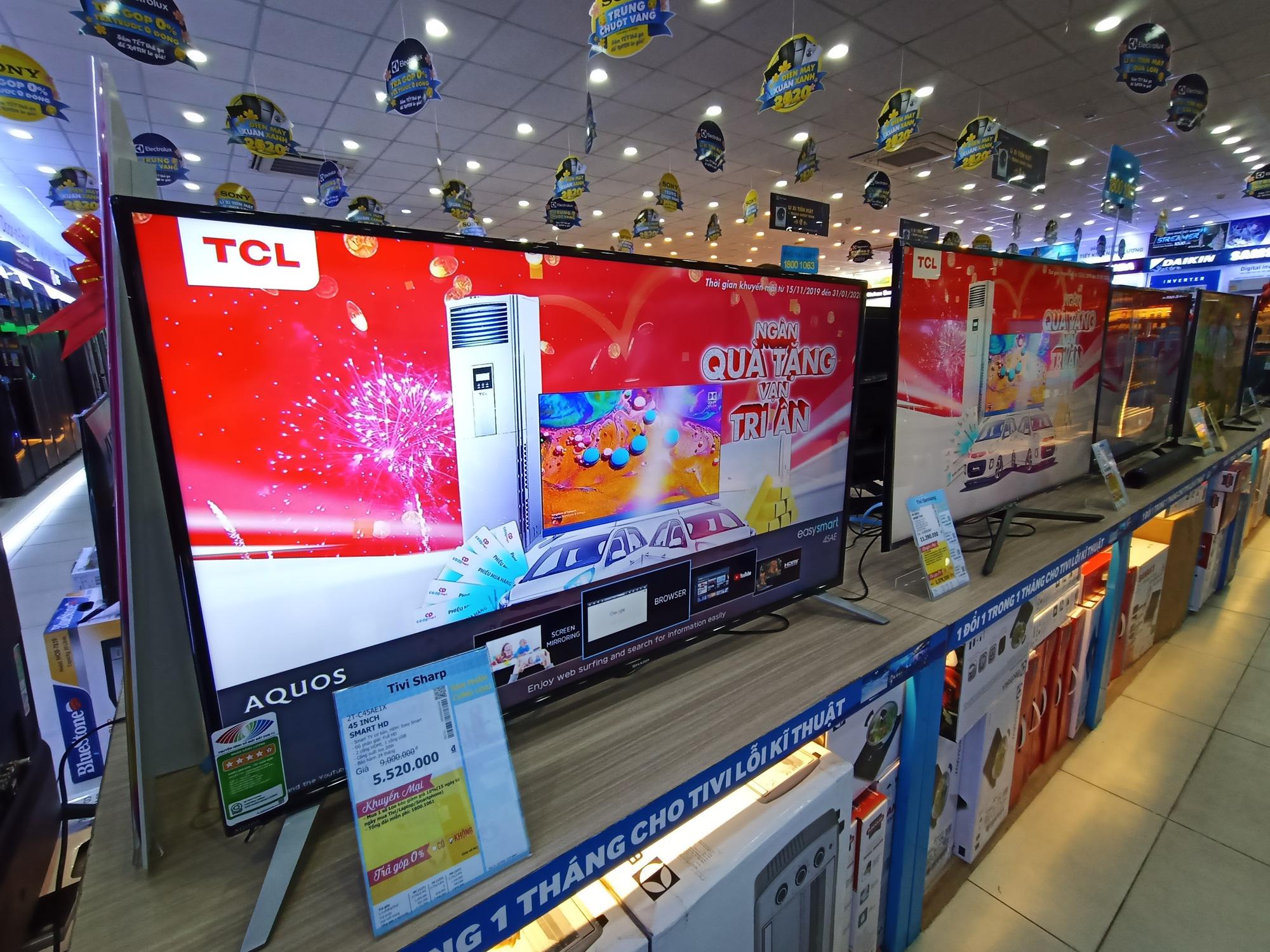 Nhiều dòng tivi giảm giá kích cầu mua sắm trong mùa dịch virus Covid-19 - Ảnh 1.