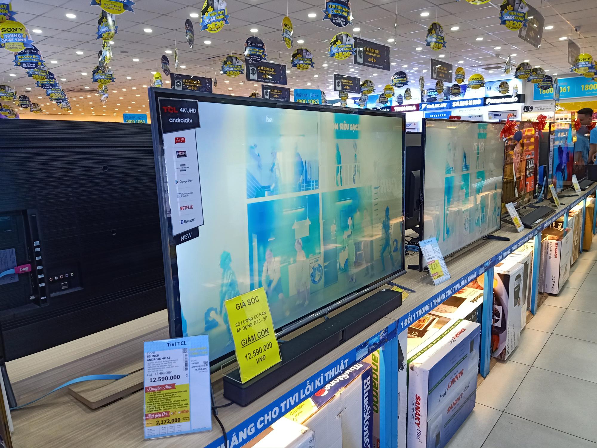 Nhiều dòng tivi giảm giá kích cầu mua sắm trong mùa dịch virus Covid-19 - Ảnh 3.