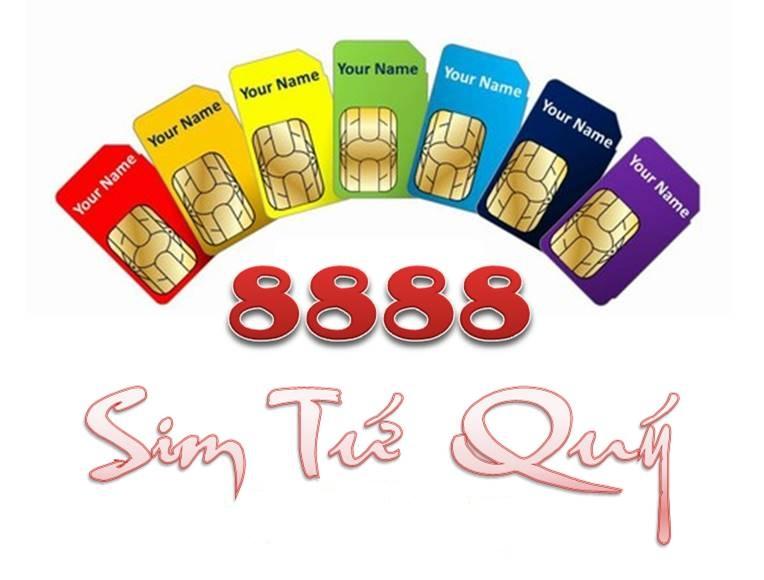 Ý nghĩa sim tứ quý 8888 và cách chọn sim tứ quý 8888 thông mình - Ảnh 1.