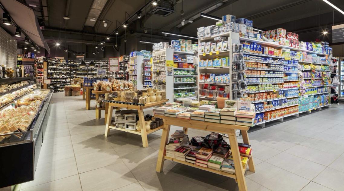 Chuỗi siêu thị One World Gourmet đang được hoàn hiện và sẽ đi vào hoạt động vào tháng 5/2020. (Ảnh: ĐXMT).