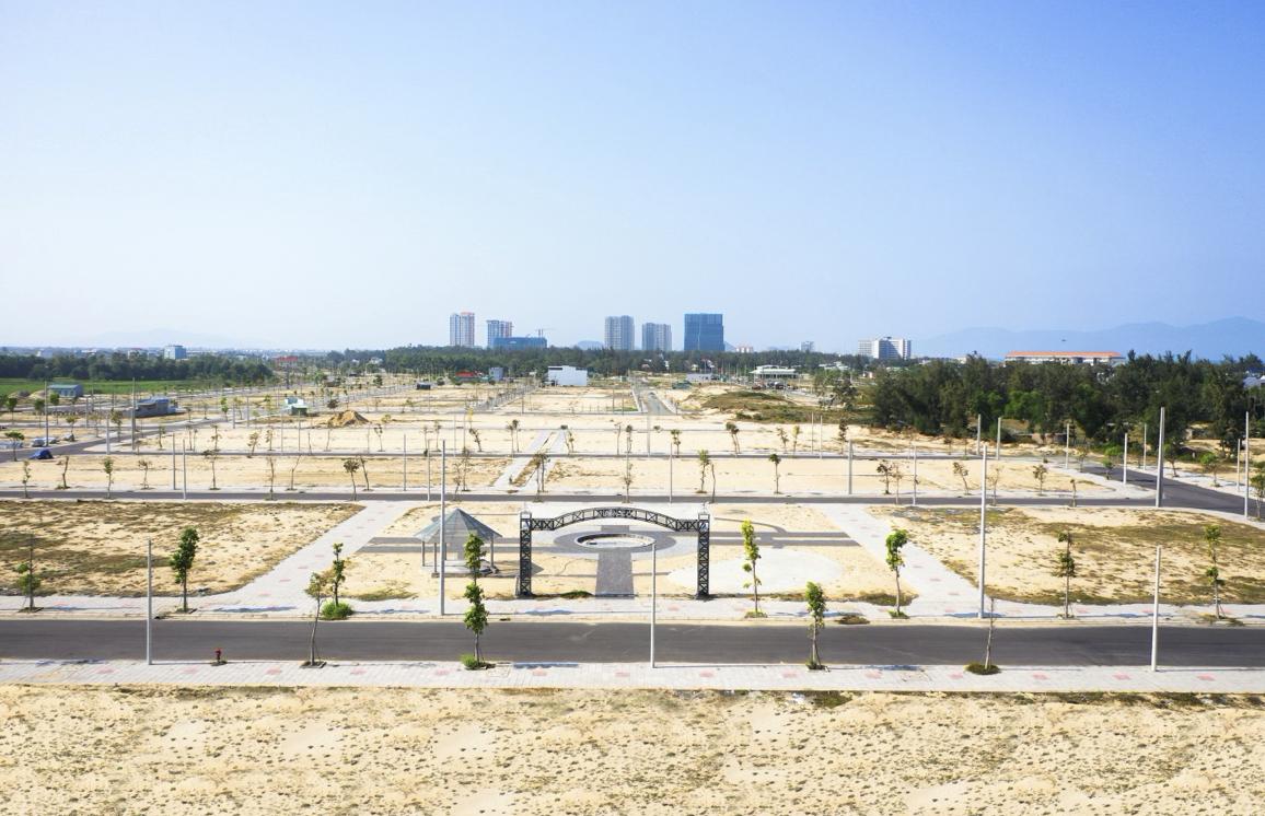 Công viên trung tâm tại dự án Tropical Palm dự kiến khánh thành vào tháng 5/2020. (Ảnh: ĐXMT).