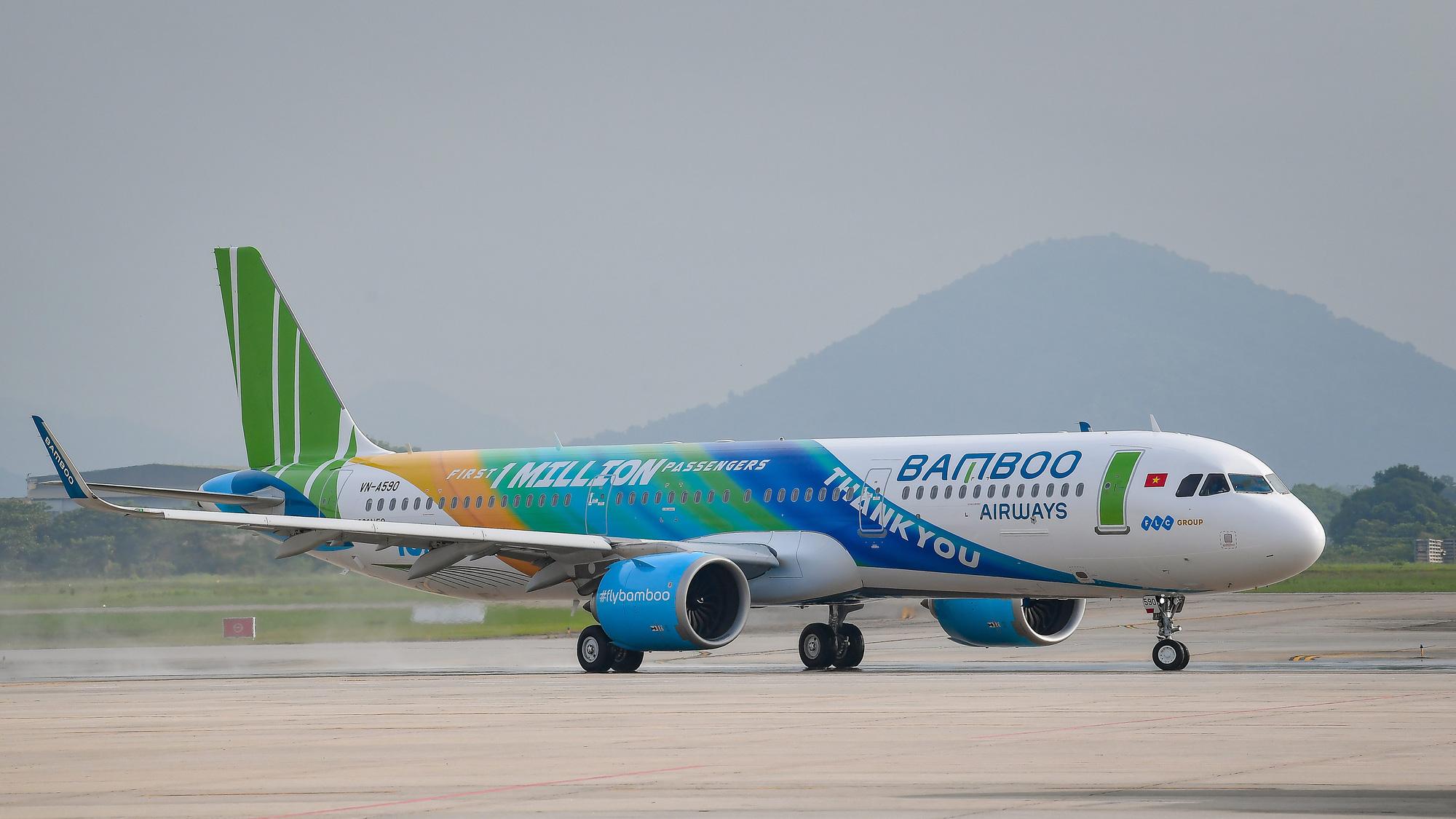 Phó Thủ tướng yêu cầu xem xét đề xuất bỏ hạn chế số lượng máy bay của Bamboo Airways - Ảnh 1.