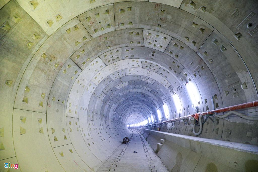 Ga ngầm metro đầu tiên của TP HCM dần lộ diện - Ảnh 10.