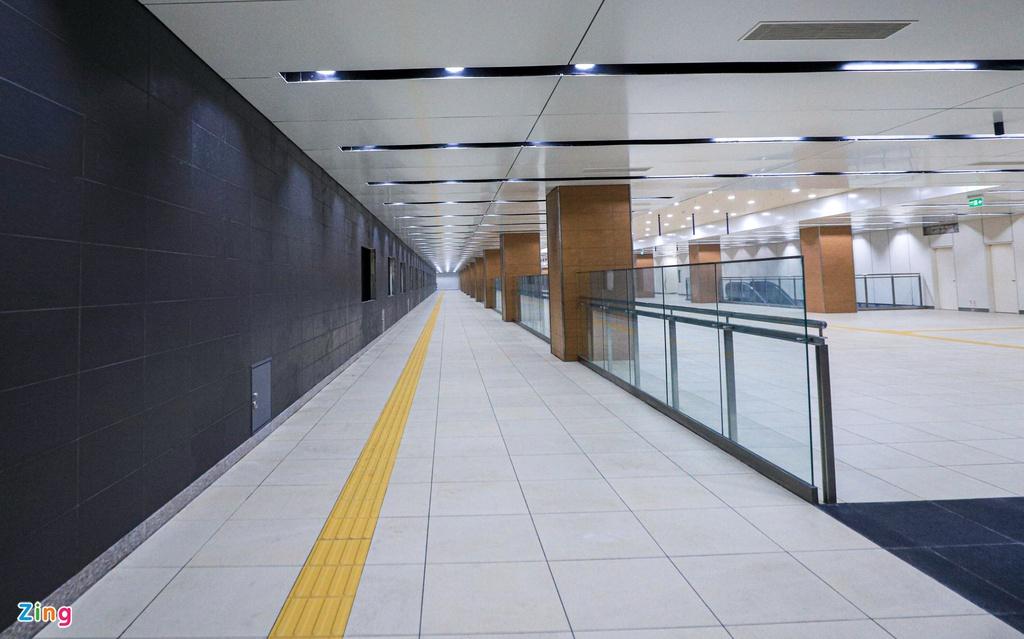 Ga ngầm metro đầu tiên của TP HCM dần lộ diện - Ảnh 3.