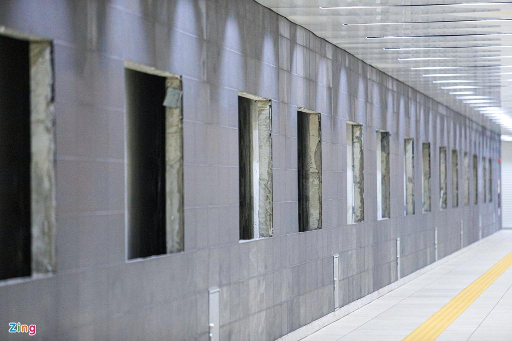 Ga ngầm metro đầu tiên của TP HCM dần lộ diện - Ảnh 9.