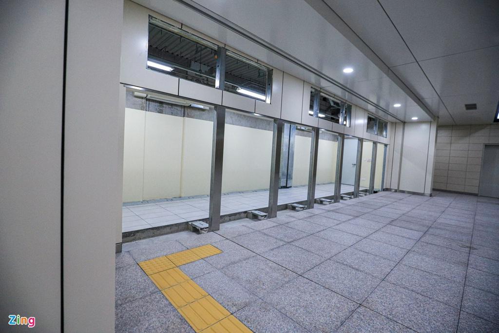 Ga ngầm metro đầu tiên của TP HCM dần lộ diện - Ảnh 6.