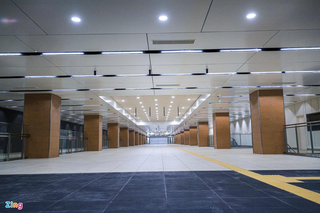 Ga ngầm metro đầu tiên của TP HCM dần lộ diện - Ảnh 2.