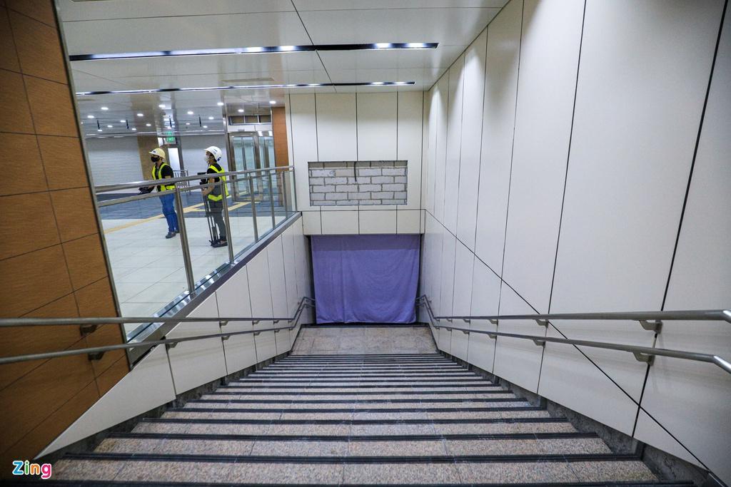 Ga ngầm metro đầu tiên của TP HCM dần lộ diện - Ảnh 8.