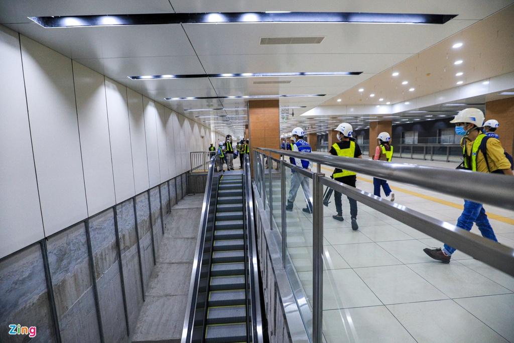 Ga ngầm metro đầu tiên của TP HCM dần lộ diện - Ảnh 7.