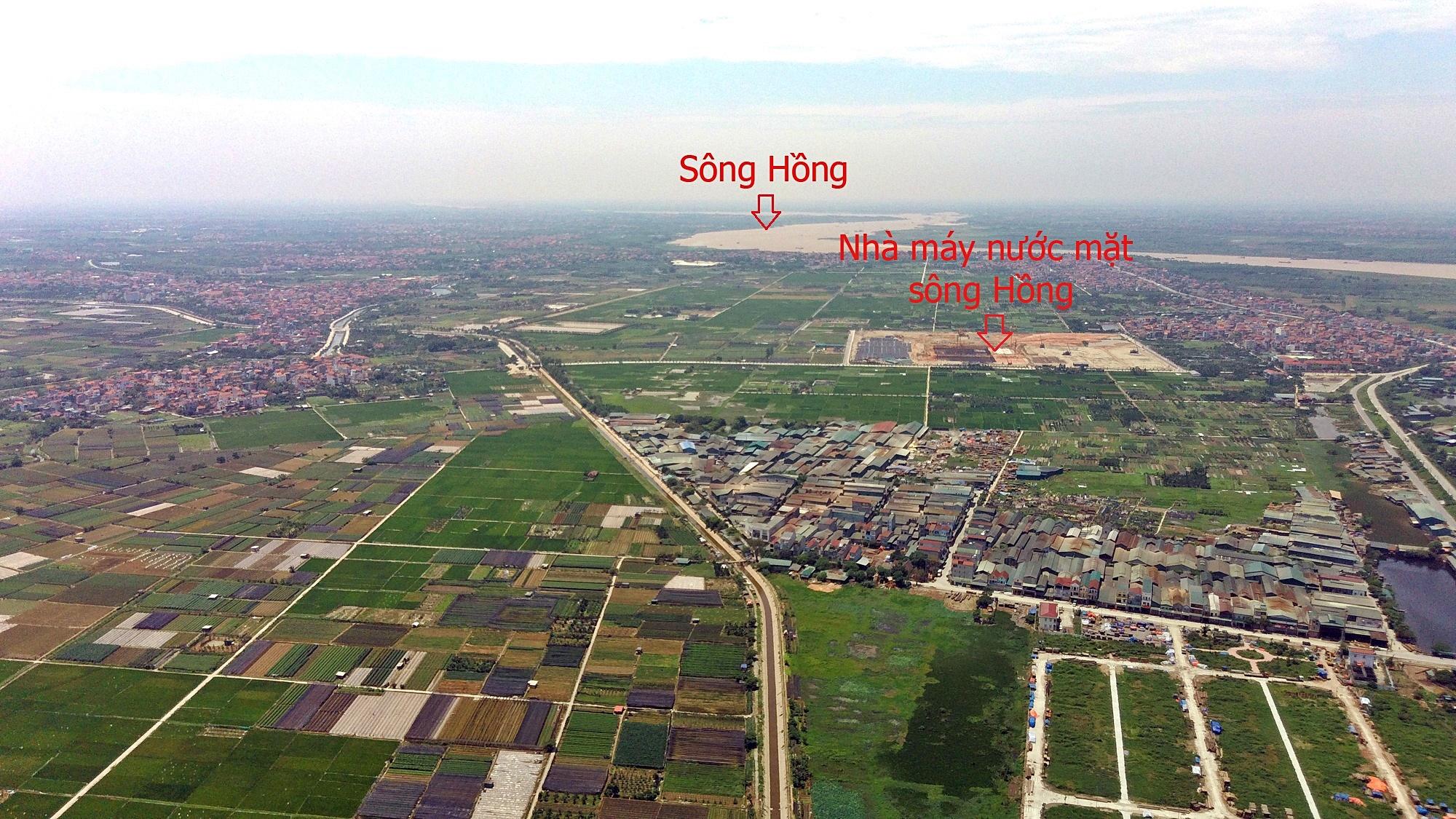 Cầu sẽ mở theo qui hoạch ở Hà Nội: Toàn cảnh vị trí làm cầu Hồng Hà nối Đan Phượng với Mê Linh - Ảnh 3.