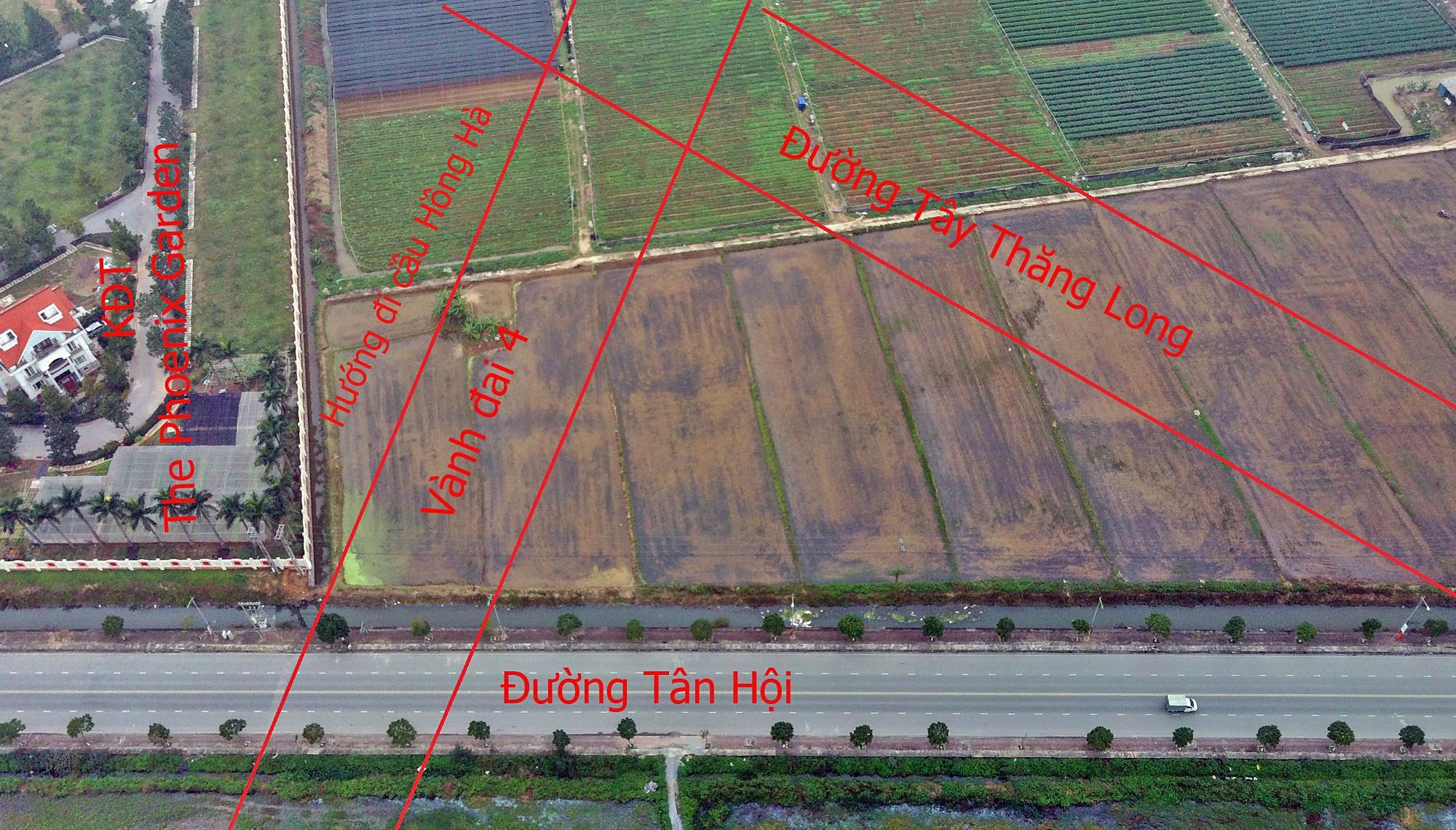 Những dự án sẽ hưởng lợi từ qui hoạch cầu Hồng Hà nối Đan Phượng - Mê Linh - Ảnh 7.