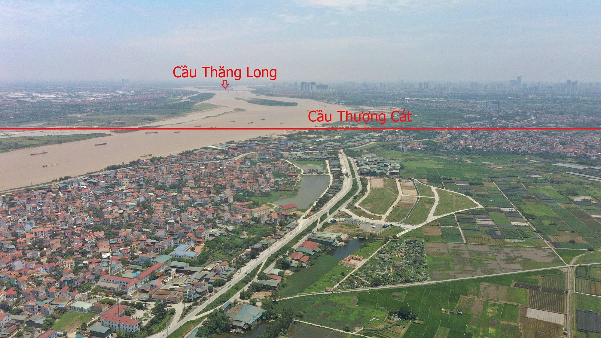 Những dự án sẽ hưởng lợi từ qui hoạch cầu Hồng Hà nối Đan Phượng - Mê Linh - Ảnh 8.