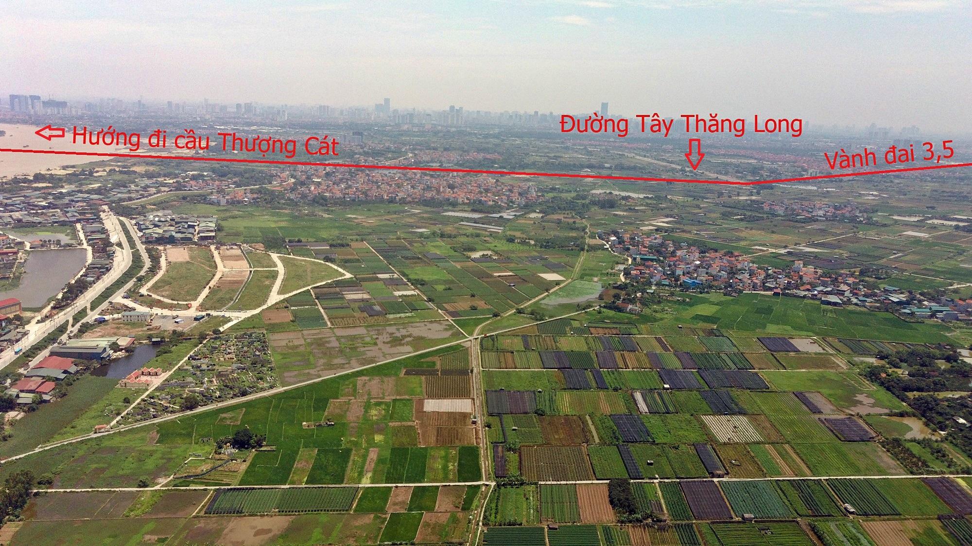 Những dự án sẽ hưởng lợi từ qui hoạch cầu Hồng Hà nối Đan Phượng - Mê Linh - Ảnh 9.