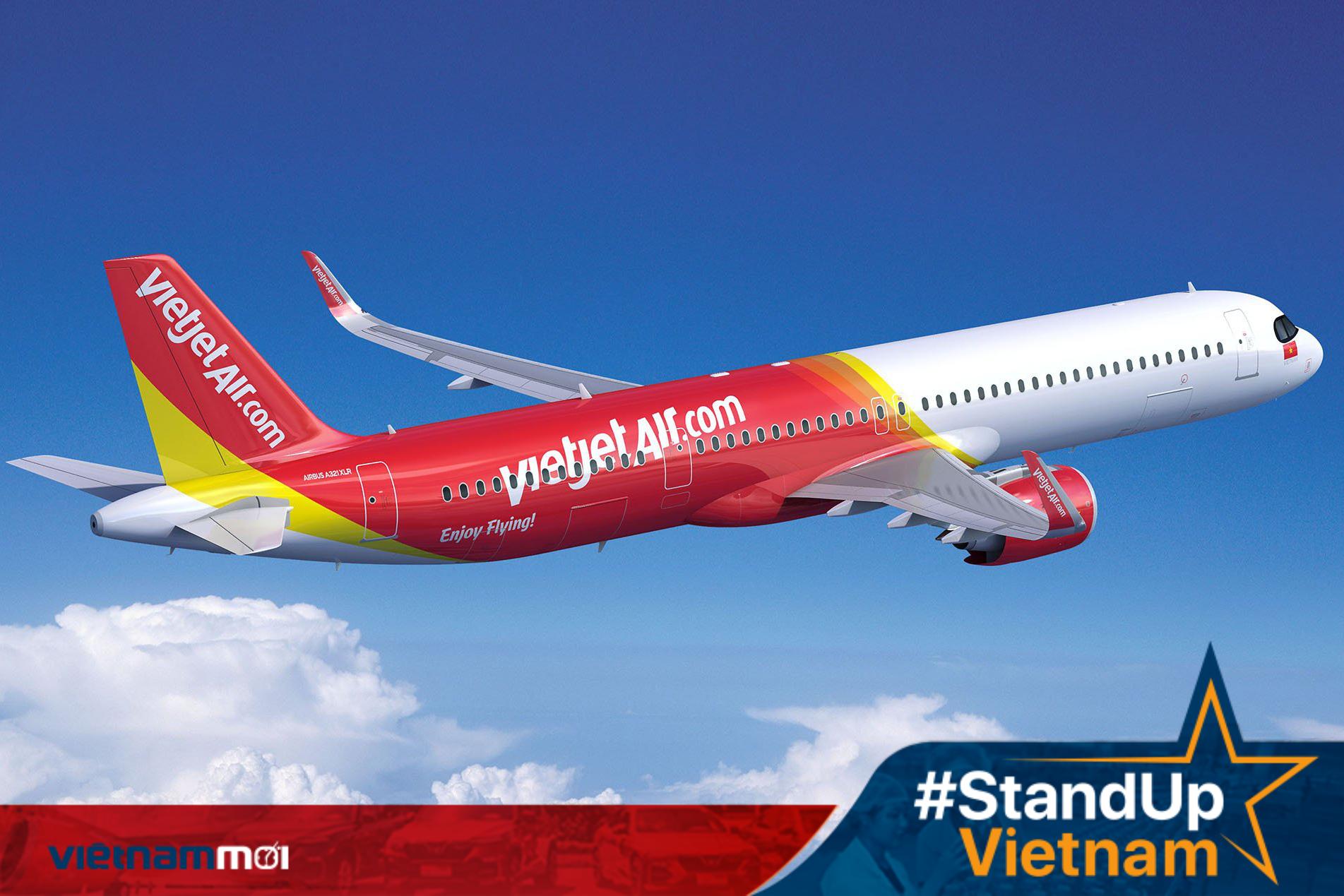 Vietjet Air mở bán giá vé cho các chặng nội địa chỉ từ 18 nghìn đồng