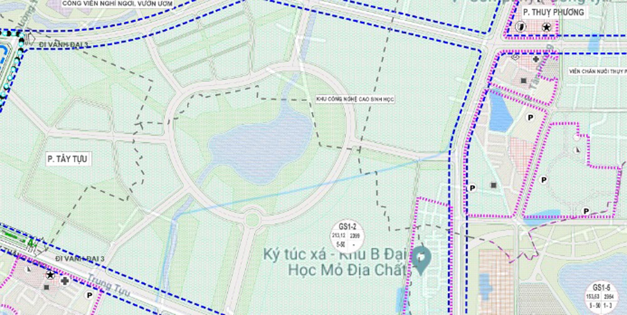 Những mảnh đất sẽ được đào hồ lớn ở quận Bắc Từ Liêm - Ảnh 8.