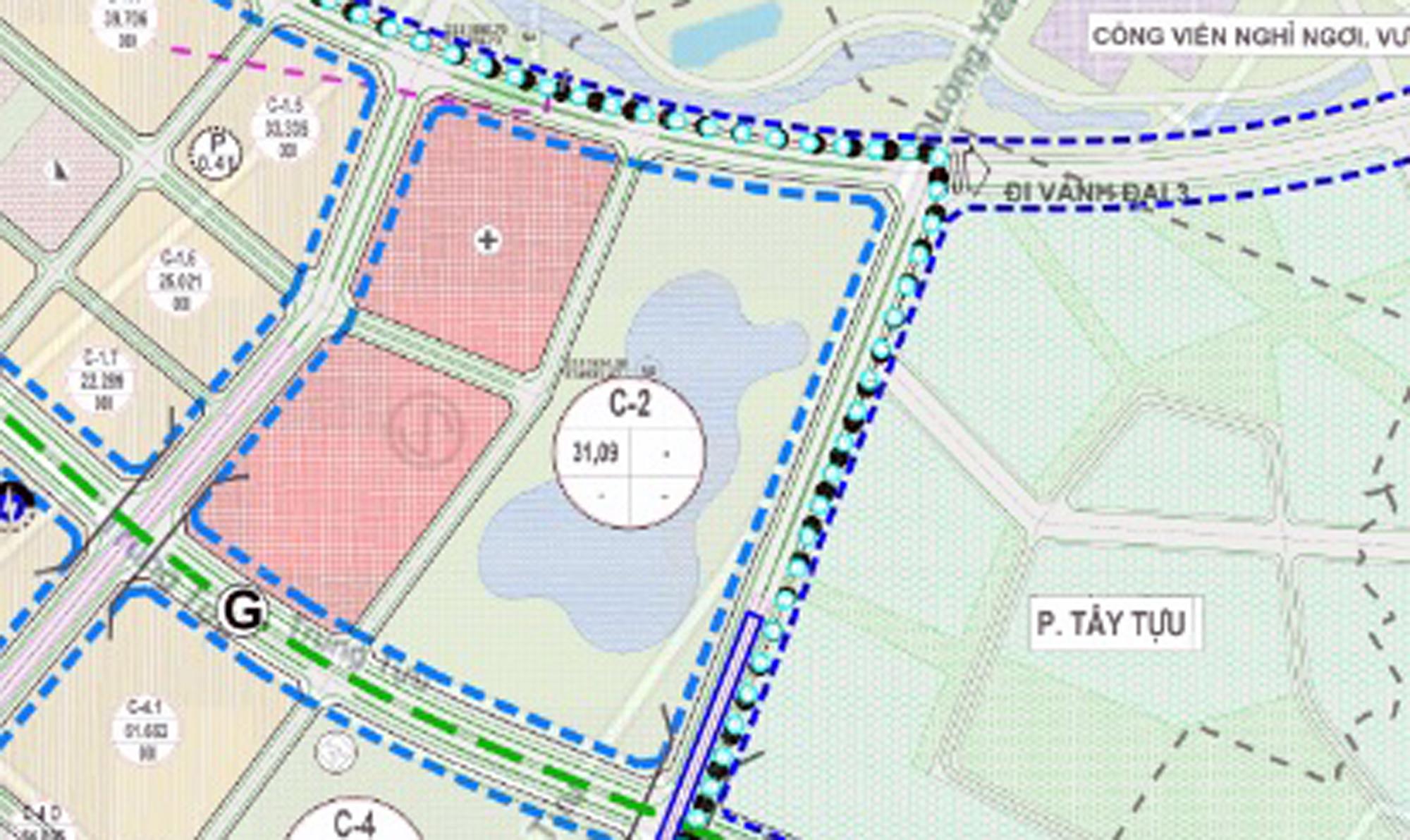 Những mảnh đất sẽ được đào hồ lớn ở quận Bắc Từ Liêm - Ảnh 12.