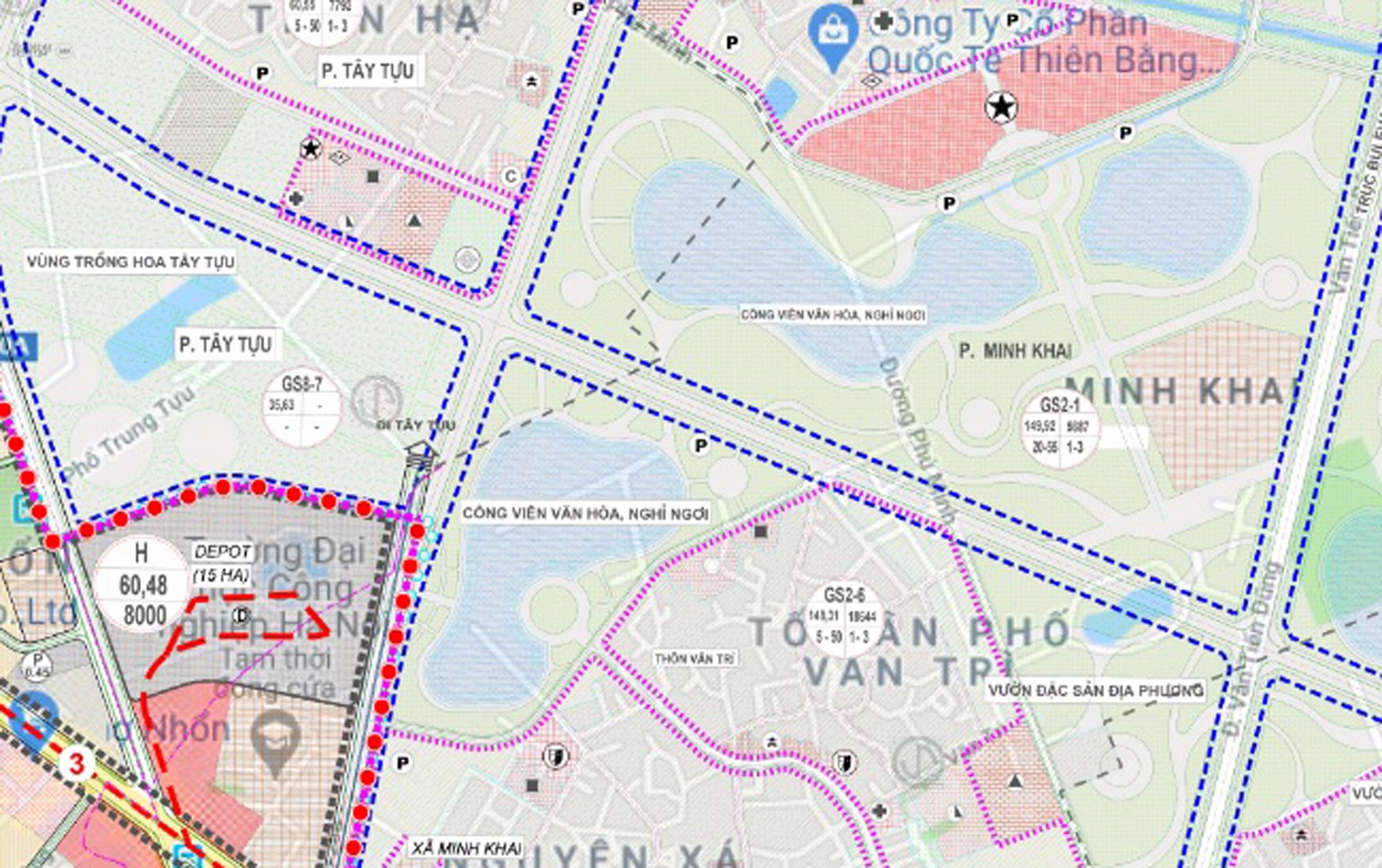 Những mảnh đất sẽ được đào hồ lớn ở quận Bắc Từ Liêm - Ảnh 14.