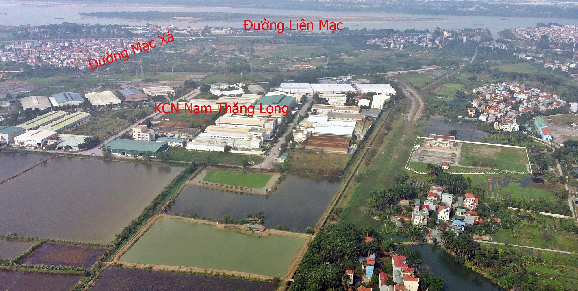 Những mảnh đất sẽ được đào hồ lớn ở quận Bắc Từ Liêm - Ảnh 1.
