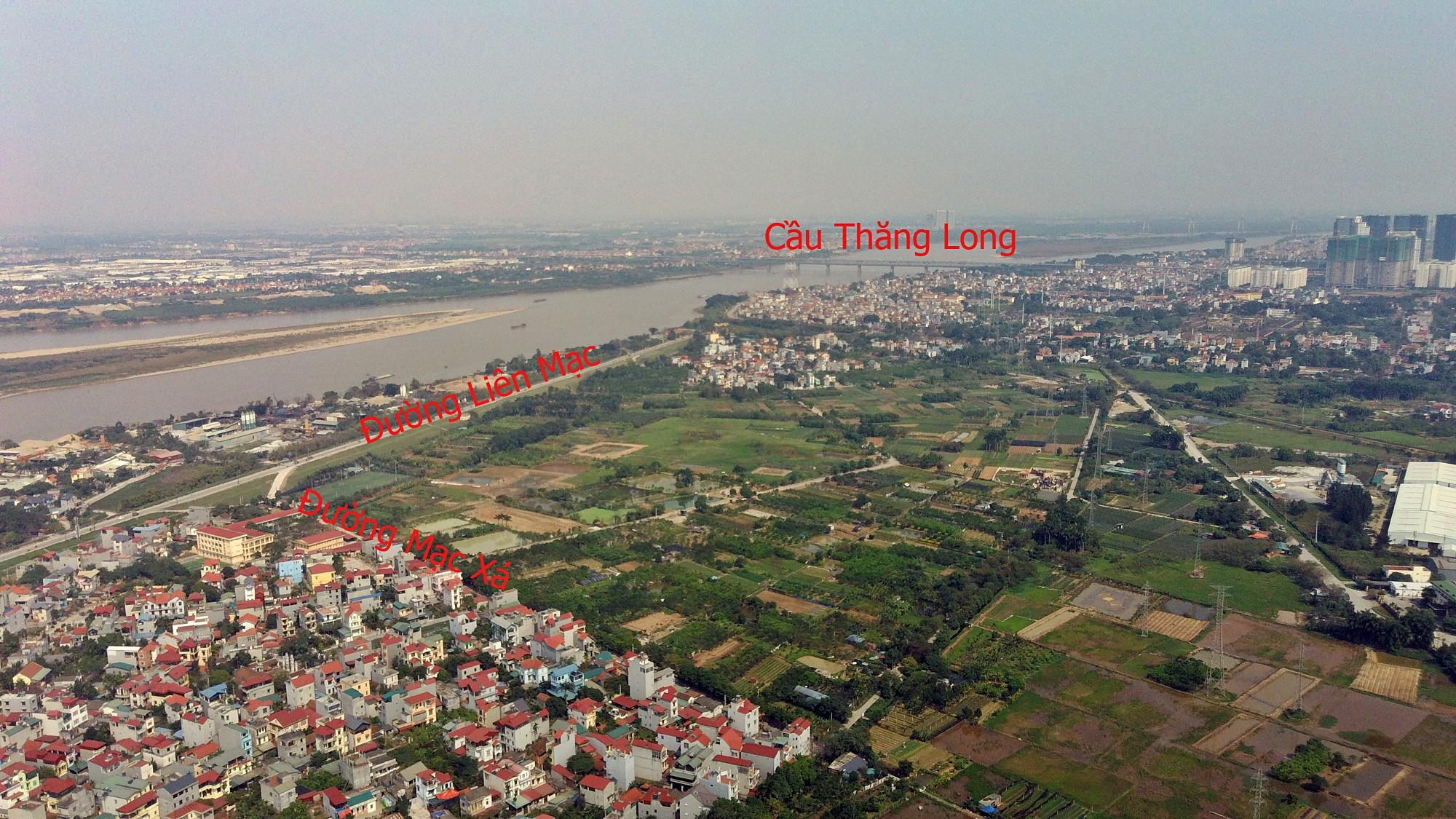 Những mảnh đất sẽ được đào hồ lớn ở quận Bắc Từ Liêm - Ảnh 2.