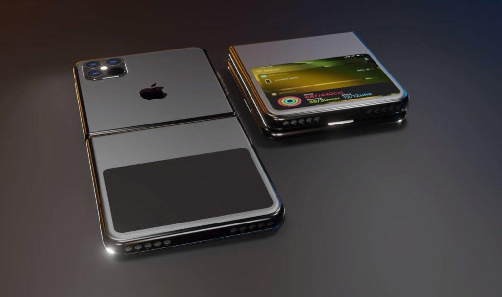 Concept iPhone màn hình gập đẹp mê li sẽ khiến iFan thích thú - Ảnh 3.
