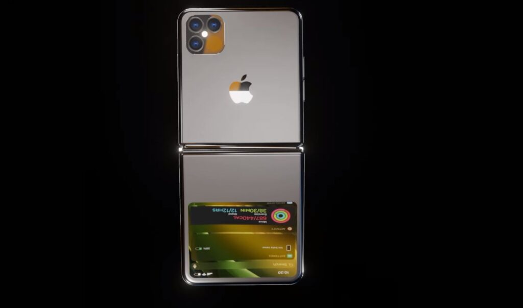 Concept iPhone màn hình gập đẹp mê li sẽ khiến iFan thích thú - Ảnh 1.