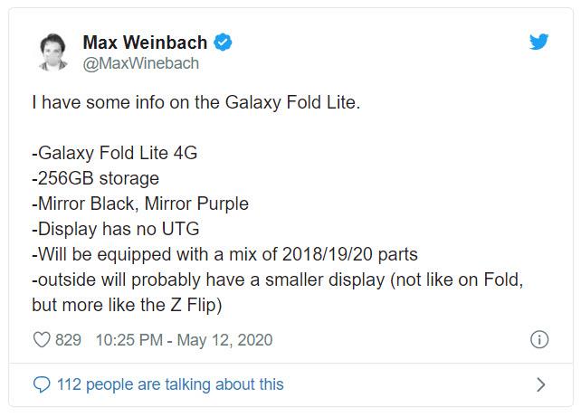 Sẽ có thêm một phiên bản Samsung Galaxy Fold lite trong năm nay - Ảnh 2.