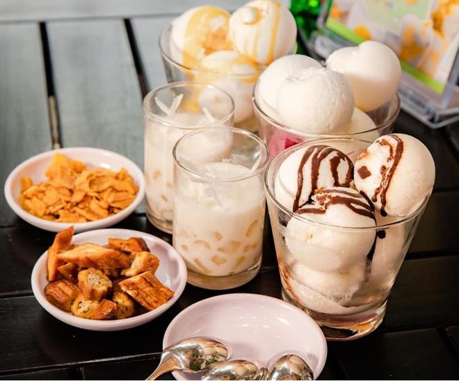 Hà Nội 'mát lạnh' với món sữa chua trân châu Hạ Long - Ảnh 2.
