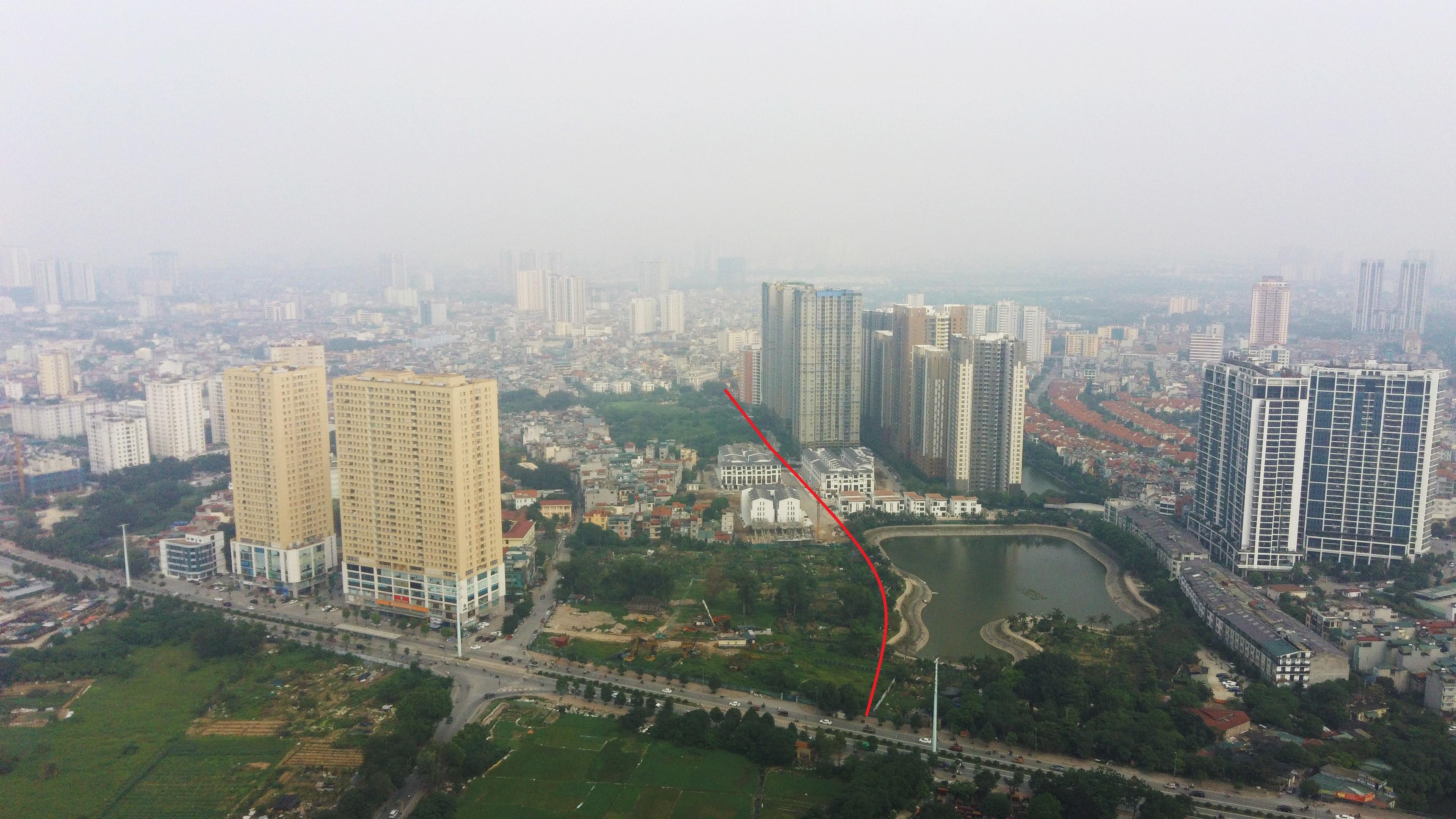 4 đường sẽ mở theo qui hoạch ở phường Trung Văn, Nam Từ Liêm - Ảnh 2.