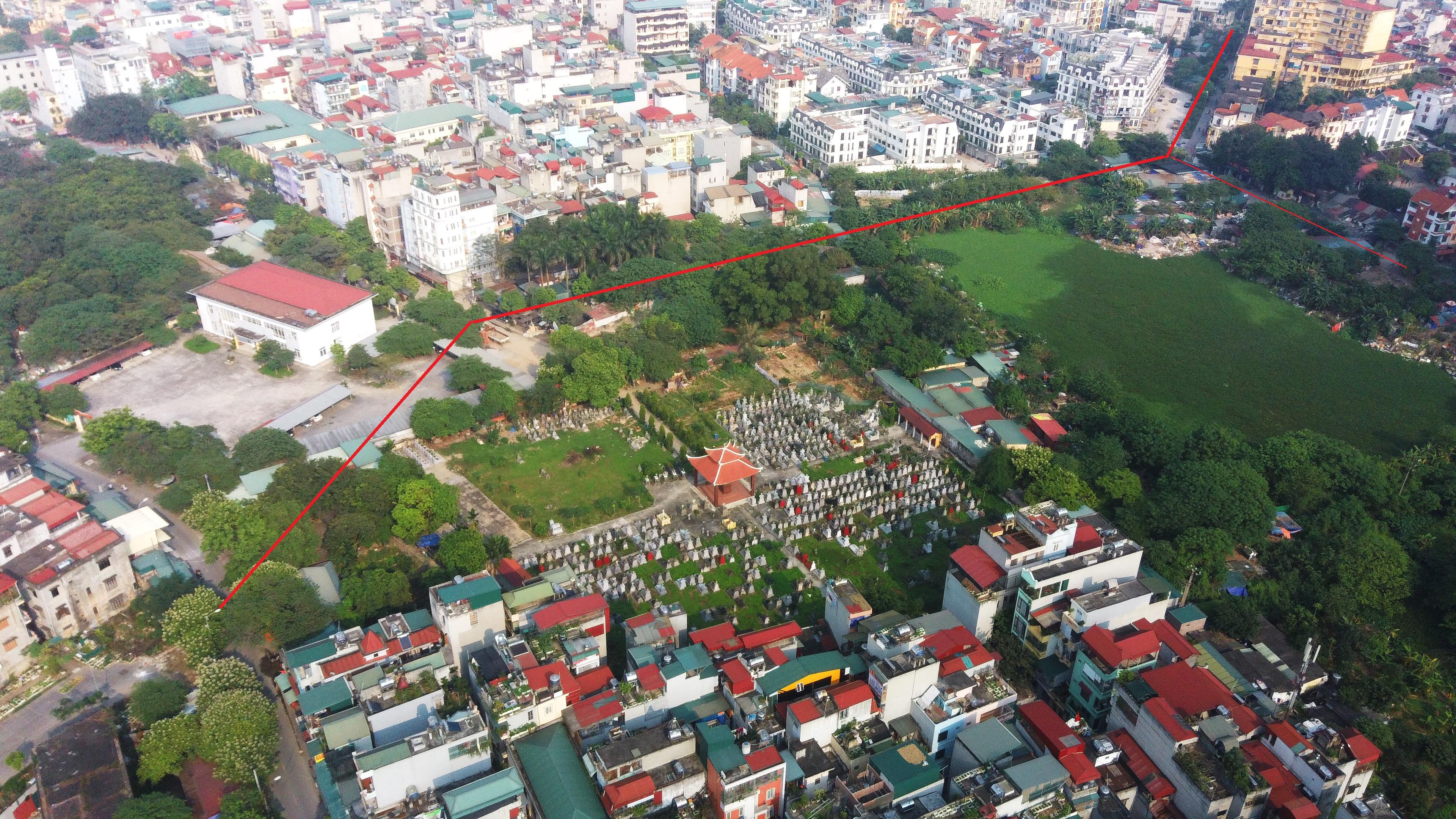 4 đường sẽ mở theo qui hoạch ở phường Trung Văn, Nam Từ Liêm - Ảnh 7.