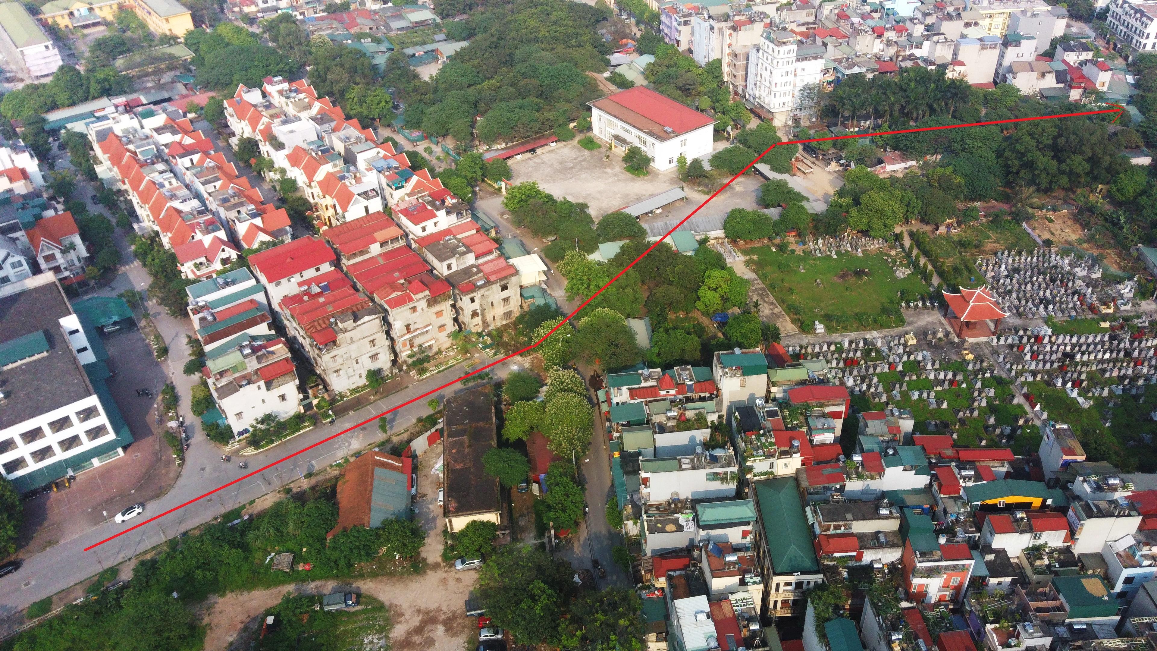 4 đường sẽ mở theo qui hoạch ở phường Trung Văn, Nam Từ Liêm - Ảnh 6.
