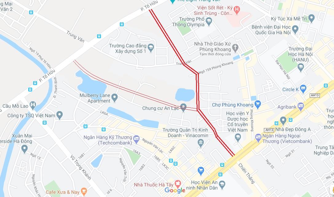 4 đường sẽ mở theo qui hoạch ở phường Trung Văn, Nam Từ Liêm - Ảnh 4.