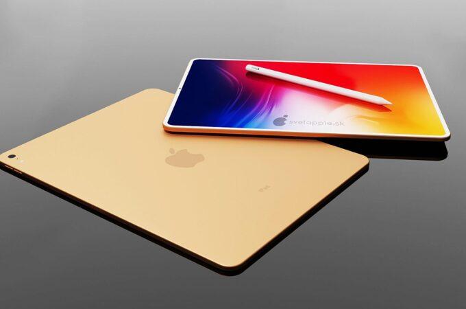 Lộ diện Concept 3D iPad Air 2020 với viền cực mỏng - Ảnh 1.