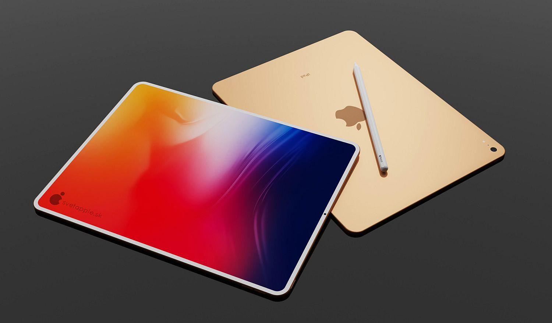 Lộ diện Concept 3D iPad Air 2020 với viền cực mỏng - Ảnh 3.