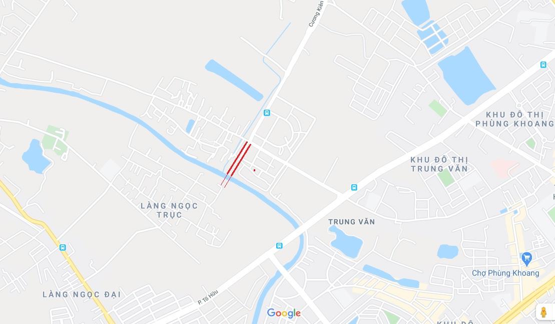 4 đường sẽ mở theo qui hoạch ở phường Trung Văn, Nam Từ Liêm - Ảnh 9.