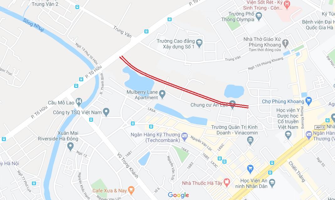 4 đường sẽ mở theo qui hoạch ở phường Trung Văn, Nam Từ Liêm - Ảnh 1.