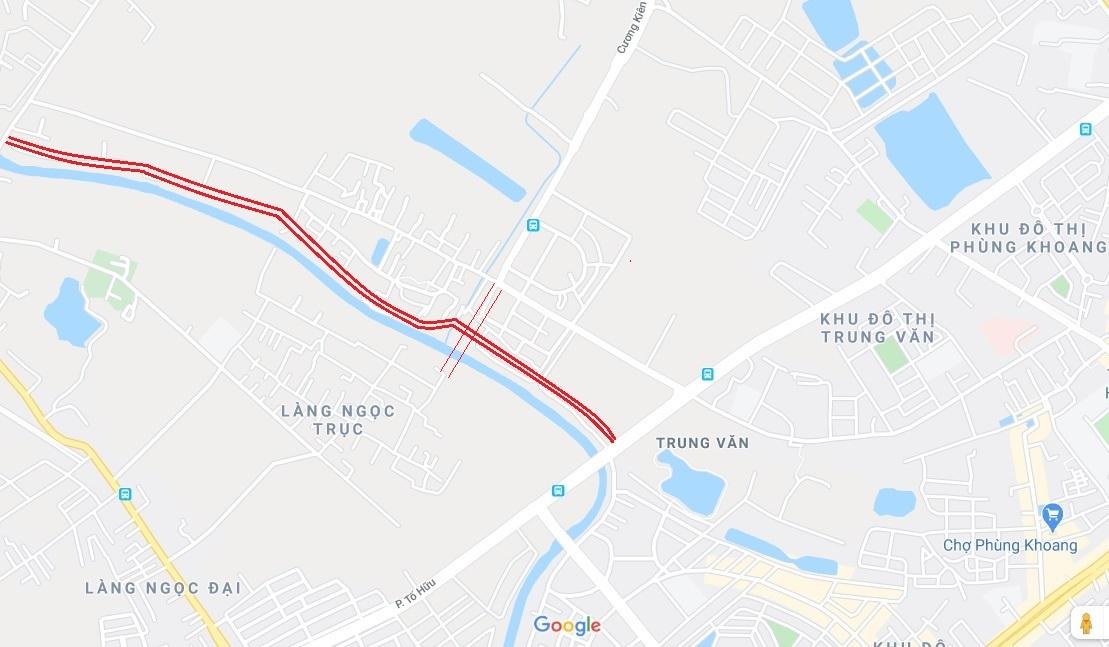 4 đường sẽ mở theo qui hoạch ở phường Trung Văn, Nam Từ Liêm - Ảnh 11.