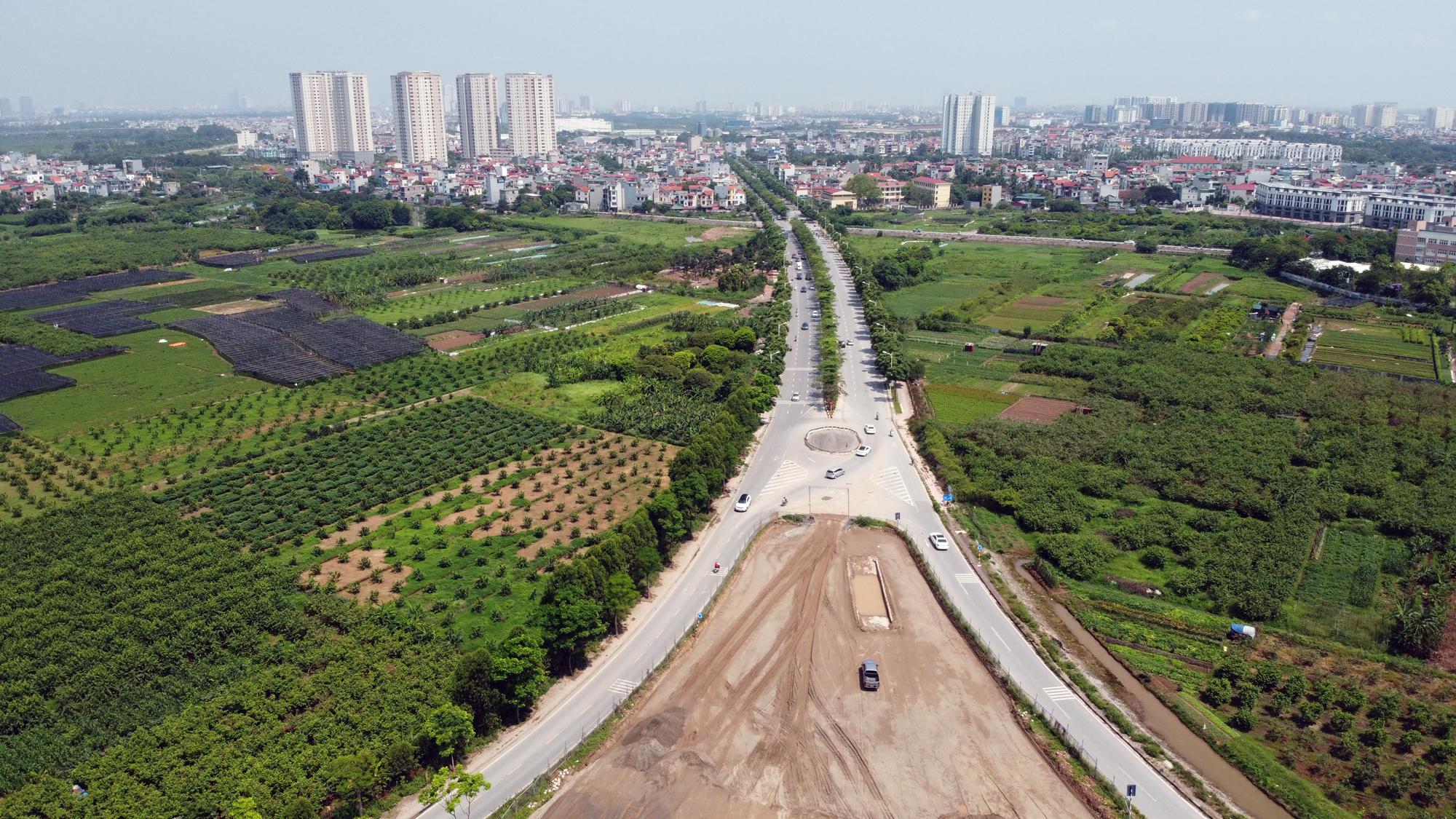 Toàn cảnh dự án xây dựng nút giao Vành đai 3 với cao tốc Hà Nội - Hải Phòng - Ảnh 4.