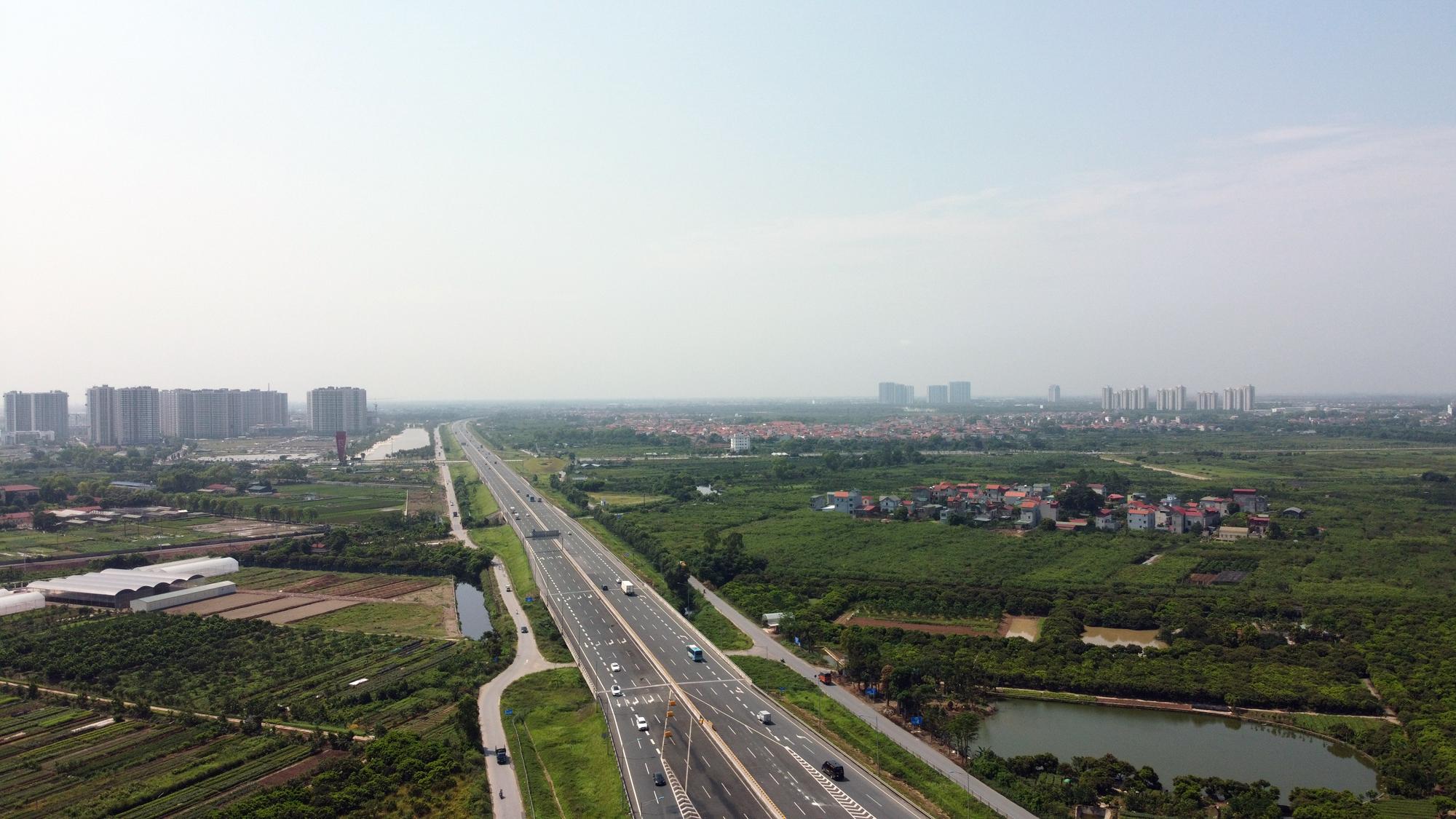 Toàn cảnh dự án xây dựng nút giao Vành đai 3 với cao tốc Hà Nội - Hải Phòng - Ảnh 5.