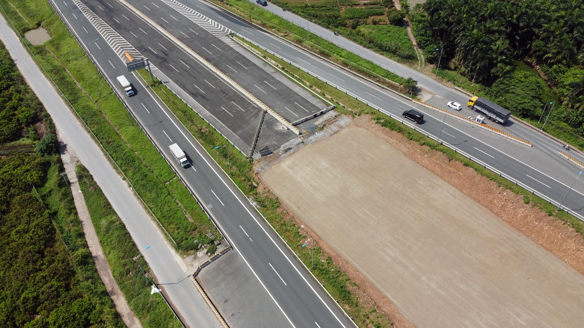Toàn cảnh dự án xây dựng nút giao Vành đai 3 với cao tốc Hà Nội - Hải Phòng - Ảnh 7.