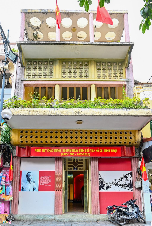 Những 'địa chỉ đỏ' ghi dấu Chủ tịch Hồ Chí Minh ở Hà Nội - Ảnh 4.
