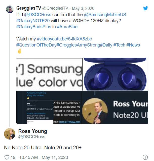 Sẽ không có mẫu điện thoại 5G nào mang tên Samsung Galaxy Note 20 Ultra được ra mắt năm nay - Ảnh 2.